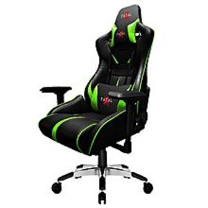 Fatal XWarcry Series PC Gaming Chair - Green/Black