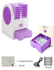 Royal Traders USB Air Conditioner Fan - Purple