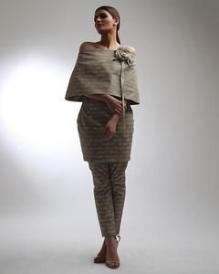 """""""Alkaram studio Catalyst Collection 2019 Vol II Beige Cambric 1 Piece Suit For Women -A132218842-2.5"""""""