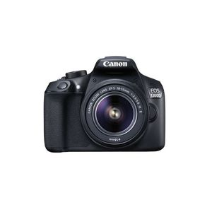 CANON EOS-1300D - 18MP - DSLR Camera - With 55mm Lens - Black