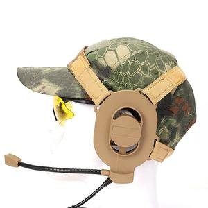 Bowman Elite II Headset Earphone For Z-TAC Bowman Unilateral Headphone Airsoft Accessories --- Tan / Black