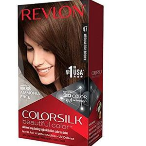 Color Silk 3D Technology USA For Men and Women No 47 Medium Rich Brown