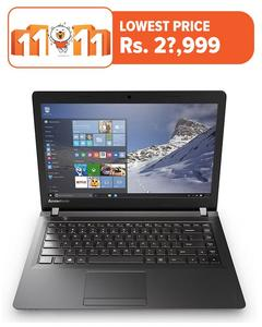 "Ideapad 110 - 15.6"" HD Display - Intel® Celeron® N3060 - Intel® HD Graphics - FreeDOS 2.0"