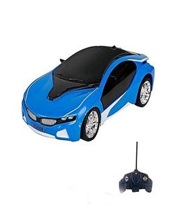 Rc Car With Led Lights - Blue