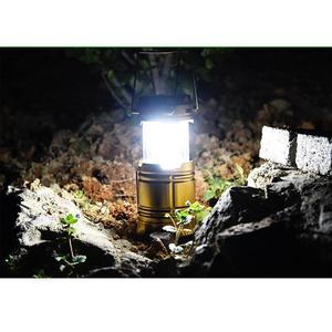 Portable 6 LED Solar USB Charging Rechargeable Outdoor Camping Tent Lantern Light 6 LED Lamp