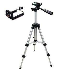 3110 Tripod Stand For Camera And Mobile - Silver