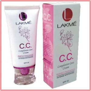 LAKMÉ CC Complexion Care Cream perfect radiance intense whitening spf 20