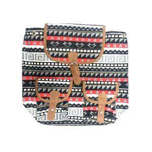 Black Hard Cloth Bag for Girls