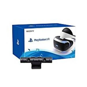 Sony Pack of 2- PlayStation VR PSVR with Camera - White