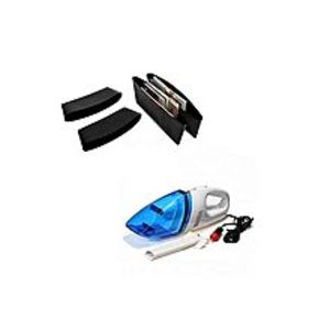 Deals and Gifts Pack Of 2 - Car Vacuum Cleaner & Catch Caddy For Car