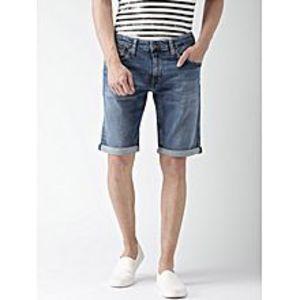 Daraz FashionLight Blue Denim Shorts For Men