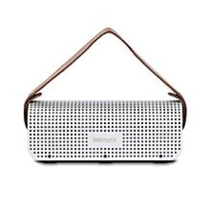 Remax RB-H1 - SD Stereo Wireless Bluetooth Speaker with Power Bank 8800mAh With NFC - Silver