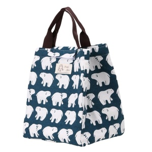Canvas Tote Bag  Portable Thermal Lunchbox for Office/School