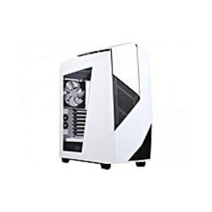 NZXTNoctis 450 Mid Tower Computer Case Glossy White CA-N450W-W1