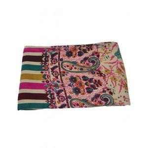 DesiBazaar Multicolour Handmade Woolen Womens Shawls - HWS-021