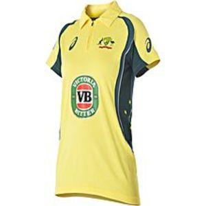 Hafiz SportsYellow Cotton Australian Cricket Team T-Shirt For Men