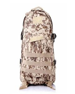 Military Bag For Travel And School - Desert Brown
