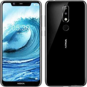 "Nokia 5.1 Plus 5.8 "" 32 GB 3 GB RAM Dual Sim 4G LTE Fingerprint Black"