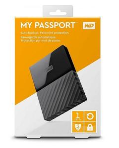My Passport 1TB Portable Hard Drive - Black
