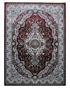 Silky Traditional Rug - Synthetic - 4X6 - Red