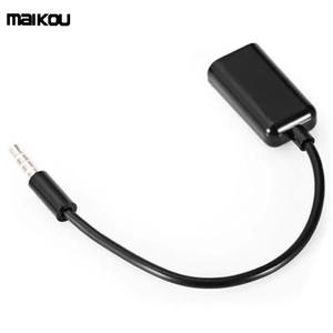 Maikou 3.5mm Audio Cable AUX Stereo Splitter Male to 2 Port Female