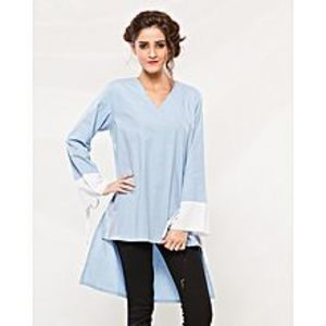 BEECHTREE Ferozi Cotton Western Wear Shirt for Women
