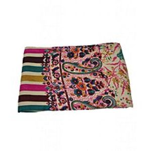 DesiBazaarMulticolour Handmade Woolen Women's Shawls - HWS-021