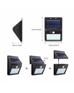 Solar Powered Led Wall Light -