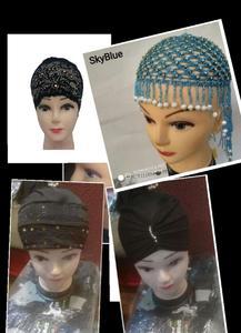 Pack Of 4 Beautiful Hijab Head Caps For Girls / Ladies / Women