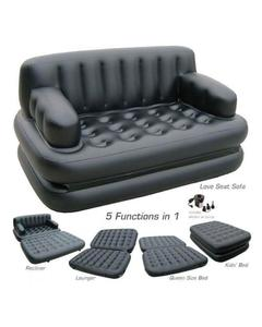 Original Bestway 5 In 1 Inflatable Sofa Air Bed Couch