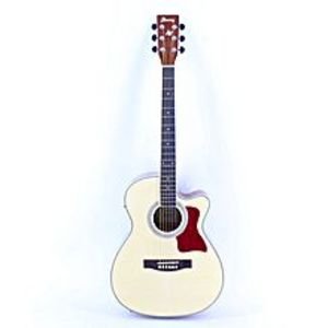 IBANEZSemi-Acoustic Guitar 40''C With FishMan LED Tuner EQ - Brown