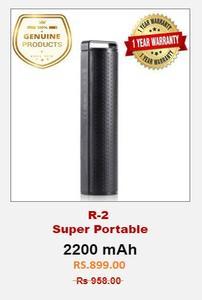 RONIN R-2  Super Portable 2200 mAh Power Bank