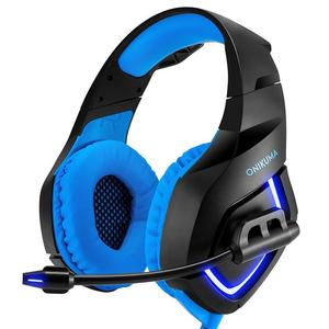 Estima ONIKUMA K1 Stereo Bass Surround PC Gaming Headset for PS4 New Xbox One with Mic