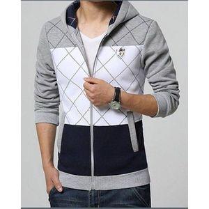 Multi Color Fleece Zippered Upper