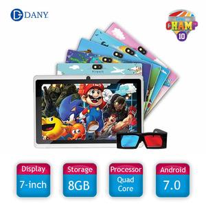 Dany Champ-10 Tablet 7inch IPS Display with free 3D Glasses