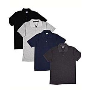 AashiPack of 4 Men Polo Shirts
