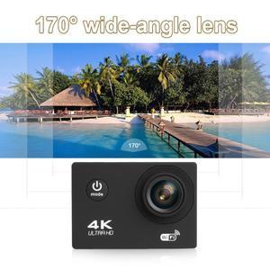 Meeting Love Outdoor Mini 2.0in 4K HD WiFi Sport Camera Waterproof Wide Angle Camcorder