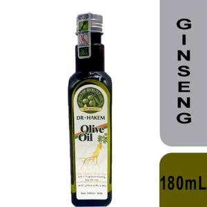 Dr.Hakem Hair Oil with Olive and Ginseng 180mL