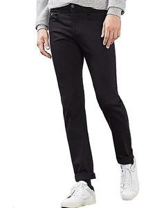 Black Slimfit Jeans For Men
