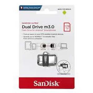Sandisk ultra dual 128gb otg usb (m 3.0)
