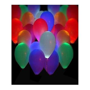 Fantastic Pack of 50 - LED Balloons - Multicolor