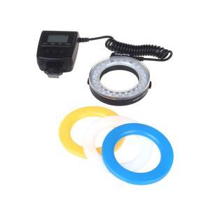 RF-550D Macro 48LED Ring Flash Light for Canon Nikon Pentax Olympus Panasonic DSLR
