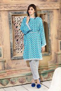 SITARA STUDIO Sapna Collection 2019 Multicolor Lawn 2PC Unstitched Suit For Women - 6100 B  (Un-stitched)