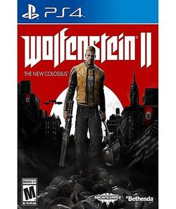 WOLFENSTEIN II: THE NEW COLOSSUS CD - PLAYSTATION 4