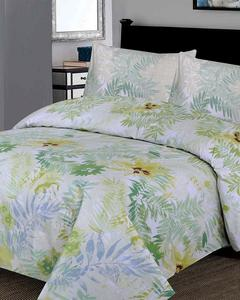 Multicolour Cotton Single Bedsheet with Pillow Cover