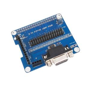 GPIO Serial Port Expansion Board For Raspberry Pi 3B 2B B+ With Indication LED blue