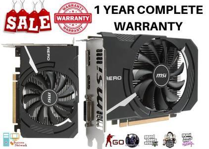 MSI Radeon RX560 Aero ITX 2GB OC (1 Year Warranty)
