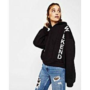 Marhaba Martperfect weekend printed  Kangroo  hoodie for women