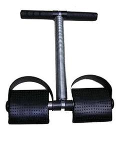 Tummy Trimmer Single Spring - Black & Silver