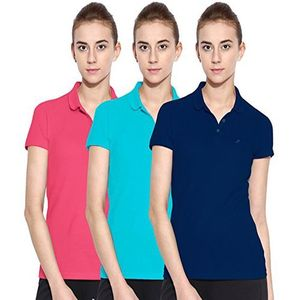A&G-PACK OF 3 POLO T SHIRT FOR WOMENS